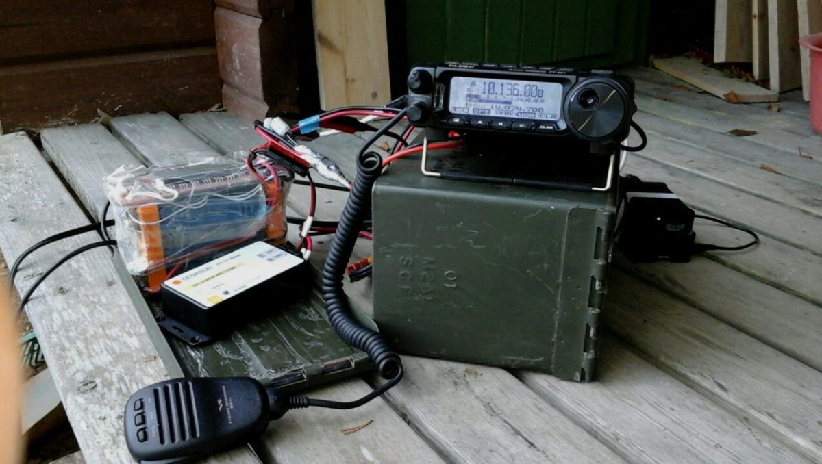 Portable HF Station in a 5.56 Ammo Can